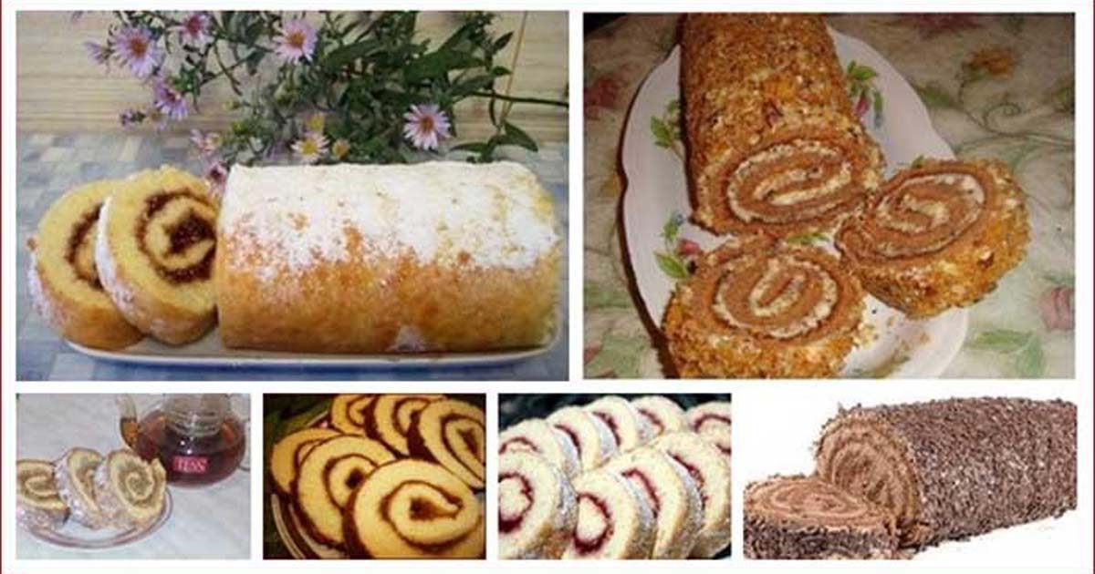Fast Tea Roll – 6 of the most amazing recipes