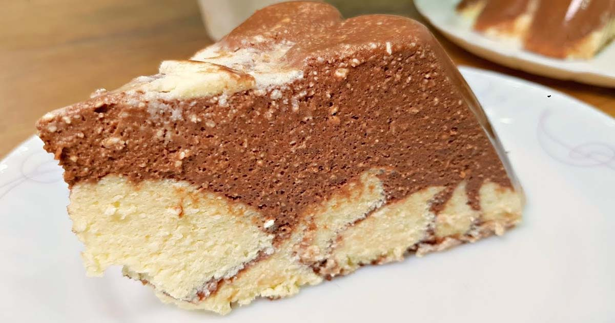 """""""Minute"""" cake made from cottage cheese for all occasions"""