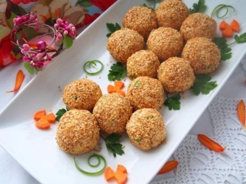 10 вариантов закусок-шариков на праздничный стол