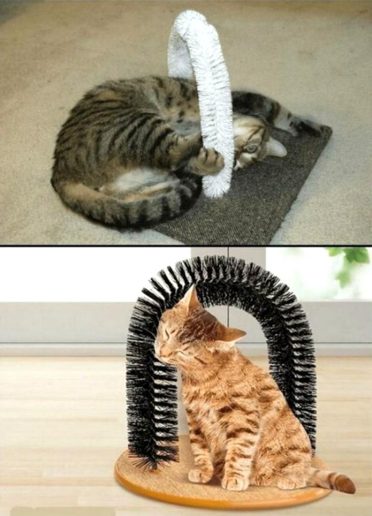 Игрушка-чесалка для кошки